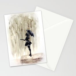 When It Rains, It Pours Stationery Cards