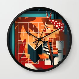Escape (Are you happy?) Wall Clock
