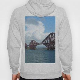 Forth Bridge, Scotland Hoody