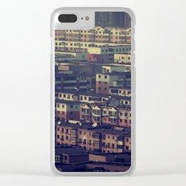 Human Sardines Clear iPhone Case