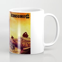 Ape Men meet iPhone Monolith - 2001 A Space Odyssey iCONSUME Coffee Mug