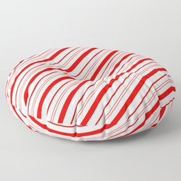 Candy Cane Stripes Floor Pillow
