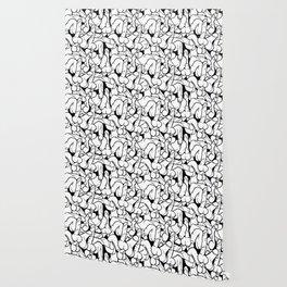 Schlong Song, Black and White Wallpaper