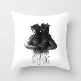 Siamese[lect] Throw Pillow