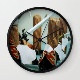 Mars Attacks Wall Clock