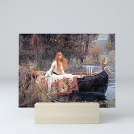 The Lady Of Shalott John William Waterhouse Mini Art Print