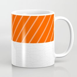 Simple Salmon Sushi Coffee Mug