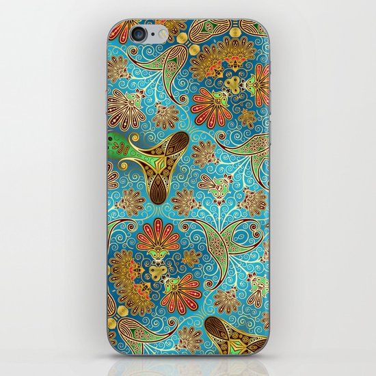 Indian Floral iPhone & iPod Skin