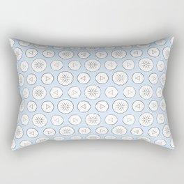 White clouds Rectangular Pillow