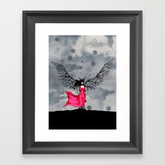 Devil In Disguise Framed Art Print