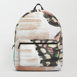 Unsaturated Watercolor Butterfly Backpack