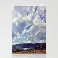 tennessee Stationery Cards featuring Tennessee Sky by molliemacks