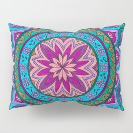 Meditation Mandala Pillow Sham
