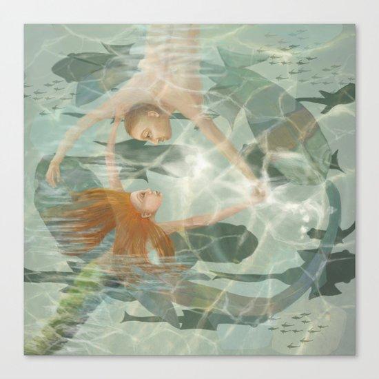 Little Mermaid Canvas Print
