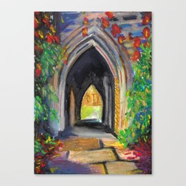 U of T Archway Canvas Print
