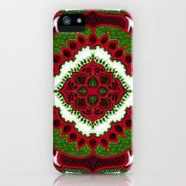 Mandala Floral Pattern Design Art Doodle iPhone Case