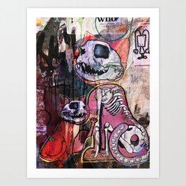 Reanimated Art Print
