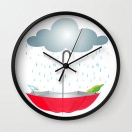Refugio de animales Wall Clock