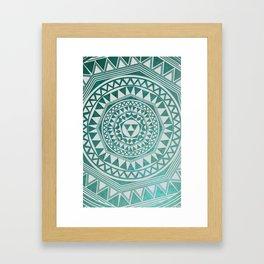 Case Framed Art Print