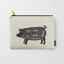 PORK BUTCHER DIAGRAM (pig) Carry-All Pouch