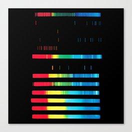 Spectroanalysis Canvas Print