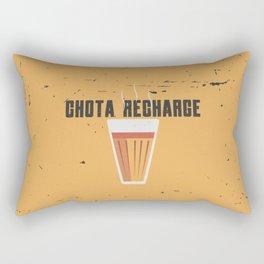 Funny Chai Hindi Quote Rectangular Pillow