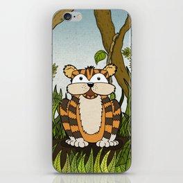 Erin's Jungle Tiger iPhone Skin