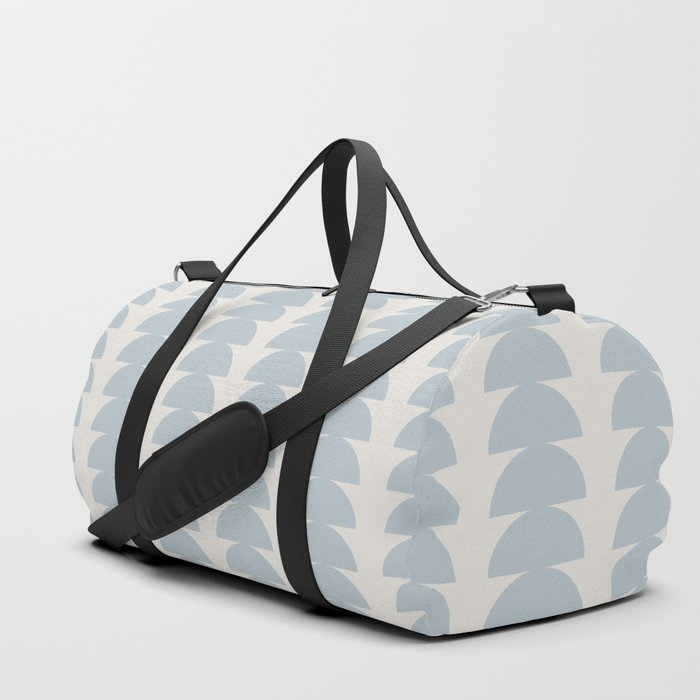 Maude Pattern - Blue Duffle Bag