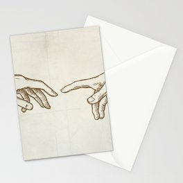 Creation of Adam hand draw Stationery Cards