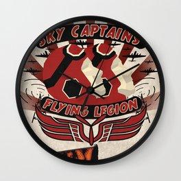 Flying Legion Wall Clock