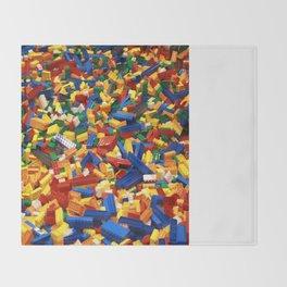 A Sea Full of Legos Throw Blanket