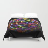 circle Duvet Covers featuring circle by store2u