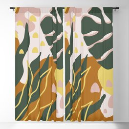 Floral Magic Blackout Curtain