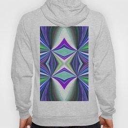 Abstract Kaleidoscope Design Multi-coloured 738 Hoody