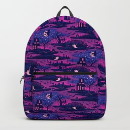 Halloween Night - Mystic Violet  Backpack
