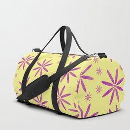 Purple flowers Duffle Bag