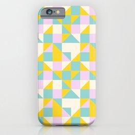 triangular geometric shape iPhone Case
