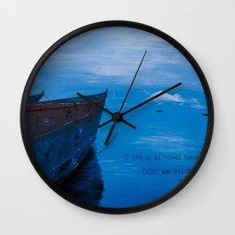 African Waters II Wall Clock