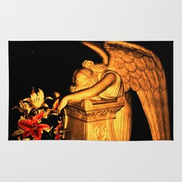 Night Angel dark Rug