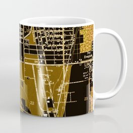 Fort Lauderdale old map year 1949, united states old maps Coffee Mug