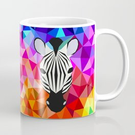 Zebra Dazzle Coffee Mug