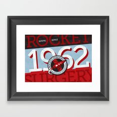 Rocket Surgery Framed Art Print