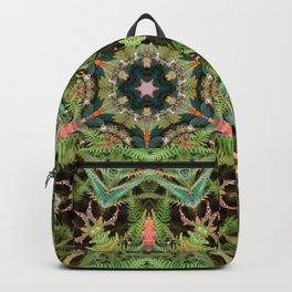 Leaves, Foilage and Fern Mandala Backpack