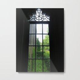 Founders Window (2) Metal Print