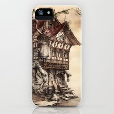 Steampunk Landscape Slim Case iPhone SE