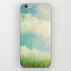 Field of Clouds iPhone & iPod Skin