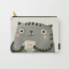 I♥kill (brown) Carry-All Pouch