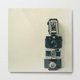 Camera Love Metal Print
