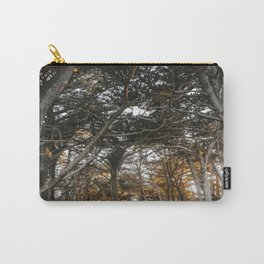 Golden Light Through The Trees Carry-All Pouch
