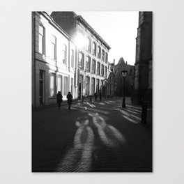 Streets of Utrecht Canvas Print